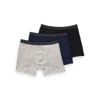 Scotch & Soda Boxershorts 3er-Pack grau/blau/schwarz