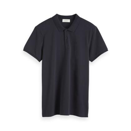 Scotch & Soda Poloshirt - anthrazit - Größe L