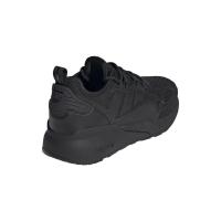 adidas ZX 2K Boost Sneaker Kinder - CBLACK/CBLACK/SHOPNK - Größe 5