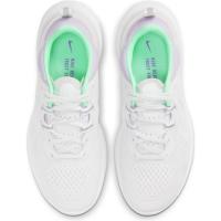 Nike React Miler 2 Laufschuhe Damen - PLATINUM TINT/GREEN GLOW-WHITE - Größe 7