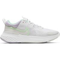 Nike React Miler 2 Laufschuhe Damen - PLATINUM TINT/GREEN GLOW-WHITE - Größe 8