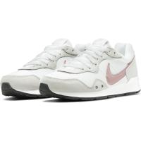 Nike Venture Runner Runningschuhe Damen - WHITE/PINK GLAZE-PLATINUM TINT-BLACK - Größe 9