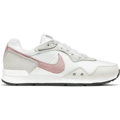 Nike Venture Runner Runningschuhe Damen - WHITE/PINK GLAZE-PLATINUM TINT-BLACK - Größe 9,5