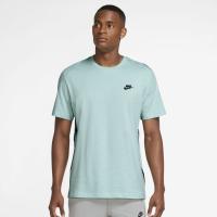 Nike Sportswear Mens Top - LIGHT DEW/BLACK - Größe S