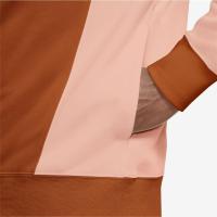 Nike Sportswear Mens Pullover French Terry Hoodie - LIGHT DEW/CAMPFIRE ORANGE/ARCTIC ORANGE - Größe S