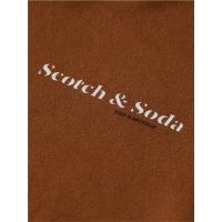 Scotch & Soda Hoodie - Tobacco - Größe M