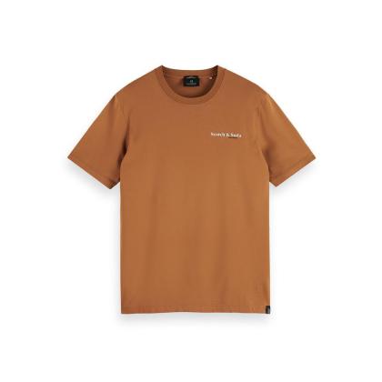 Scotch & Soda T-Shirt - Tobacco - Größe M