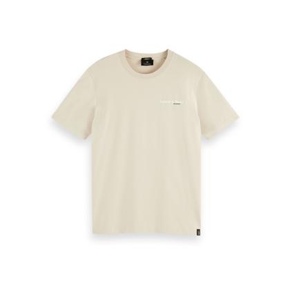 Scotch & Soda T-Shirt - Stone - Größe XXL