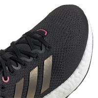 adidas Pureboost 21 W Runningschuhe Damen - CBLACK/NGTMET/ULTPOP - Größe 6