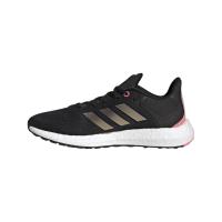 adidas Pureboost 21 W Runningschuhe Damen - CBLACK/NGTMET/ULTPOP - Größe 6-