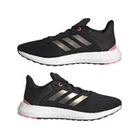 adidas Pureboost 21 W Runningschuhe Damen - CBLACK/NGTMET/ULTPOP - Größe 7-