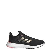 adidas Pureboost 21 W Runningschuhe Damen - CBLACK/NGTMET/ULTPOP - Größe 8