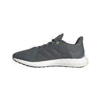 adidas Pureboost 21 Runningschuhe Herren - BLUOXI/NGTMET/HALSIL - Größe 8