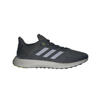 adidas Pureboost 21 Runningschuhe Herren - BLUOXI/NGTMET/HALSIL - Größe 9-