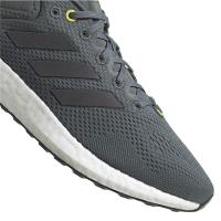 adidas Pureboost 21 Runningschuhe Herren - BLUOXI/NGTMET/HALSIL - Größe 12-