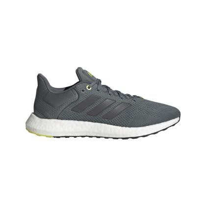 adidas Pureboost 21 Runningschuhe Herren - BLUOXI/NGTMET/HALSIL - Größe 13-