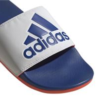 adidas Adilette Comfort Badesandalen Herren - FTWWHT/ROYBLU/SOLRED - Größe 8