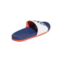 adidas Adilette Comfort Badesandalen Herren - FTWWHT/ROYBLU/SOLRED - Größe 9