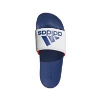 adidas Adilette Comfort Badesandalen Herren - FTWWHT/ROYBLU/SOLRED - Größe 13