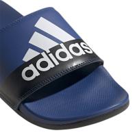 adidas Adilette Comfort Badesandalen Herren - ROYBLU/FTWWHT/CBLACK - Größe 13