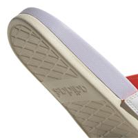 adidas Adilette Comfort Badesandalen Damen - FTWWHT/PRPTNT/WONWHI - Größe 5