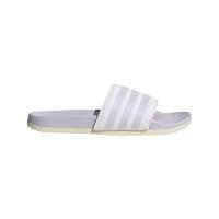 adidas Adilette Comfort Badesandalen Damen - FTWWHT/PRPTNT/WONWHI - Größe 6