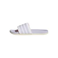 adidas Adilette Comfort Badesandalen Damen - FTWWHT/PRPTNT/WONWHI - Größe 7