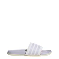 adidas Adilette Comfort Badesandalen Damen - FTWWHT/PRPTNT/WONWHI - Größe 8