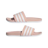 adidas Adilette Comfort Badesandalen Damen - VAPPNK/FTWWHT/FTWWHT - Größe 7