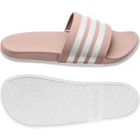 adidas Adilette Comfort Badesandalen Damen - VAPPNK/FTWWHT/FTWWHT - Größe 8