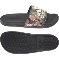 adidas Adilette Comfort Badesandalen Damen - CBLACK/WONWHI/CBLACK - Größe 7