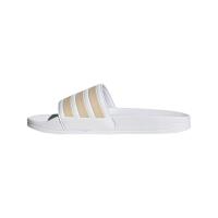adidas Adilette Shower Badesandalen Damen - FTWWHT/HALBLU/SOLRED - Größe 6