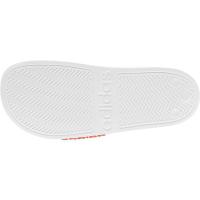 adidas Adilette Shower Badesandalen Damen - FTWWHT/HALBLU/SOLRED - Größe 8