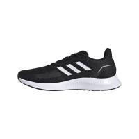 adidas Runfalcon 2.0 Sneaker Kinder - CBLACK/FTWWHT/GRESIX - Größe 3-