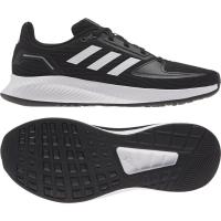 adidas Runfalcon 2.0 Sneaker Kinder - CBLACK/FTWWHT/GRESIX - Größe 4