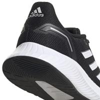adidas Runfalcon 2.0 Sneaker Kinder - CBLACK/FTWWHT/GRESIX - Größe 5
