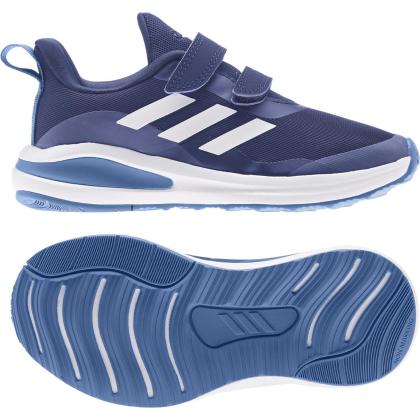 adidas FortaRun CF K Sneaker Kinder - VICBLU/FTWWHT/FOCBLU - Größe 28
