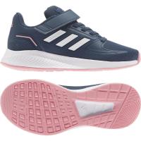 adidas Runfalcon 2.0 C Sneaker Kinder - CRENAV/FTWWHT/SUPPOP - Größe 33-
