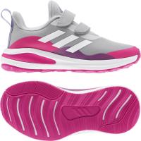 adidas FortaRun CF K Sneaker Kinder - GRETWO/FTWWHT/SHOPNK - Größe 28