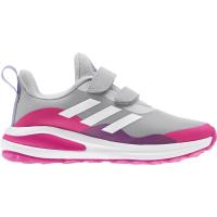 adidas FortaRun CF K Sneaker Kinder - GRETWO/FTWWHT/SHOPNK - Größe 33