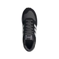 adidas Run 80s Sneaker Herren - CBLACK/FTWWHT/GRESIX - Größe 9-