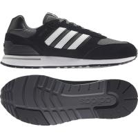 adidas Run 80s Sneaker Herren - CBLACK/FTWWHT/GRESIX - Größe 11