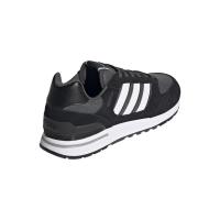 adidas Run 80s Sneaker Herren - CBLACK/FTWWHT/GRESIX - Größe 12-