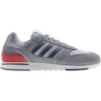 adidas Run 80s Sneaker Herren - GREY/CRENAV/HALSIL - Größe 10