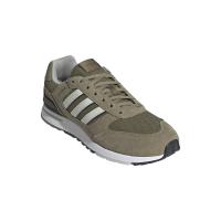 adidas Run 80s Sneaker Herren - ORBGRN/ORBGRY/FOCOLI - Größe 10