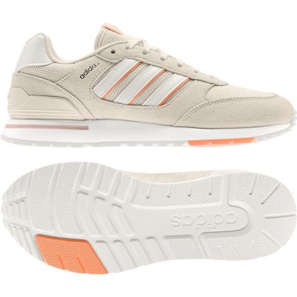 adidas Run 80s Sneaker Damen - WONWHI/CWHITE/SCRORA - Größe 5-