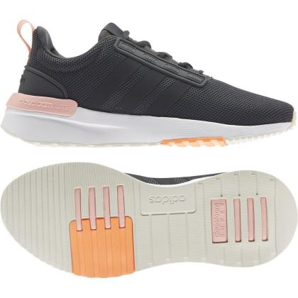 adidas Racer TR 21 Sneaker Damen - CARBON/CBLACK/VAPPNK - Größe 7-