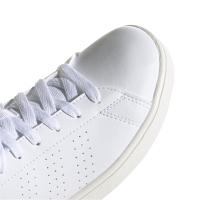 adidas Advantage K Sneaker Kinder - FTWWHT/LEGINK/CLOWHI - Größe 4-