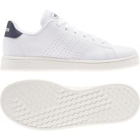 adidas Advantage K Sneaker Kinder - FTWWHT/LEGINK/CLOWHI - Größe 5