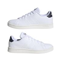adidas Advantage K Sneaker Kinder - FTWWHT/LEGINK/CLOWHI - Größe 5-